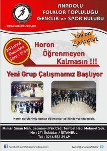 Anadolu Folklor 2017 Horon Kursu