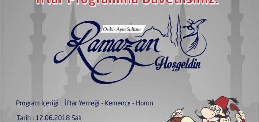 4. Geleneksel Ramazan İftarı 2018
